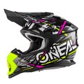 Casque O'NEAL Enfant 2Series Sinthy Pink Yellow 2018
