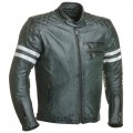 Blouson RIDE & SONS Magnificient Leather Jacket Forest Green