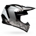 Casque SEVEN Moto-9 Flex Rogue Noir Chrome