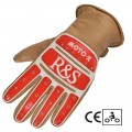 Gants RIDE & SONS Moto X Camel
