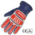 Gants RIDE & SONS Moto X Blue White Red