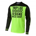 Maillot TROY LEE DESIGNS GP Air Raceshop Flo Yellow 2019