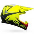 Casque BELL MX-9 MIPS Seven Ignite Neon Yellow