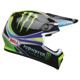 Casque BELL MX-9 MIPS Pro Circuit Replica 18.0 Gloss