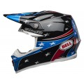 Casque BELL Moto-9 MIPS Tomac Replica 19 Eagle Gloss Black Blue
