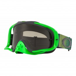 Masque OAKLEY Crowbar Shockwave Green Grey écran Dark Grey