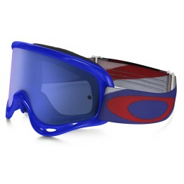 Masque OAKLEY O Frame Heritage Racer Blue écran Ice Iridium + transparent
