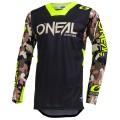 Maillot O'NEAL Mayhem Lite AMBUSH neon yellow