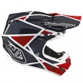 Casque TROY LEE DESIGNS SE4 Composite Metric Red Navy