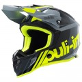 Casque Pull-In Race Grey Neon Yellow