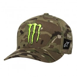 Casquette ALPINESTARS monster Multicamo Verte