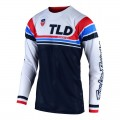 Maillot TROY LEE DESIGNS SE Air Seca White Dark Navy 2020