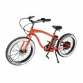 VTC électrique BUD RACING Beach Cruiser Orange Black