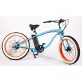 VTC électrique BUD RACING Beach Cruiser Bleu Orange