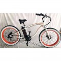 VTC électrique BUD RACING Beach Cruiser Blanc Orange