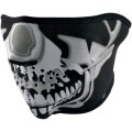 Demi masque ZAN Chrome Skull