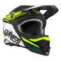 Casque O'NEAL 3SRS Stardust Black/White/Yellow 2020