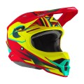 Casque O'NEAL 3SRS Riff 2.0 Red / Neon Yellow 2020