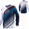 Maillot TROY LEE DESIGNS - GP Air PRISM Marine/Blanc 2010