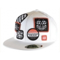Casquette TROY LEE DESIGNS - Patches Blanc 2010
