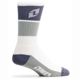 Chaussettes ONE INDUSTRIES - Rampart Gris/Blanc
