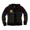 Sweatshirt ONE INDUSTRIES - ROCKSTAR Bright Lightszip Black 2010