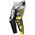 Pantalon ANSWER - ROCKSTAR Vented Blanc/Noir 2011