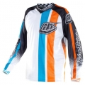 Maillot TROY LEE DESIGNS - GP Air MONACO Blanc 2011