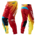 Pantalon TROY LEE DESIGNS (ENFANT) - GP VOLTAGE Red / Yellow 11