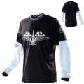 Maillot TROY LEE DESIGNS - GP HOT ROD White/Black 2011