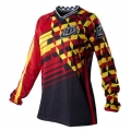 Maillot TROY LEE DESIGNS (Girl) - GP MOMENTUM Red / Black 2011