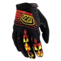Gants TROY LEE DESIGNS - (Femme) Ace Noir / Rouge 2011