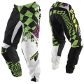 Pantalon FOX RACING (ENFANT) - 180° Checked Out Vert 2011