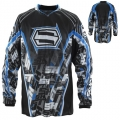 Maillot SHIFT - Strike Mark Bleu 2011