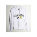 Sweatshirt HART & HUNTINGTON (Femme) - Rockstar TEAMED UP Blanc