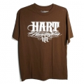 Tee shirt HART & HUNTINGTON - UP BEAT Marron