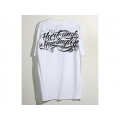 Tee shirt HART & HUNTINGTON - BLANK OUT Blanc