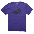 Tee shirt FOX RACING - Point to the Fence Violet 2011