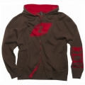 Sweatshirt ONE INDUSTRIES - Overspray Marron 2011