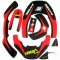 Kit sticker BLACKBIRD pour LEATT BRACE - ROUGE