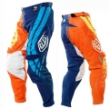 Pantalon TROY LEE DESIGNS - SE IMPERIAL Bleu/Orange 2011