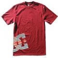 Tee shirt DC Shoes - Brother Rouge