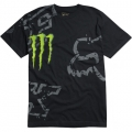 Tee shirt FOX RACING - Monster RC Replica DOWN FALL noir 2011