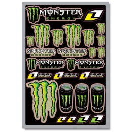 Planche de stickers ONE INDUSTRIES - Monster