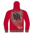 Sweatshirt HART & HUNTINGTON - Rockstar BIG BANK Rouge