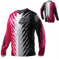 Maillot TROY LEE DESIGNS - GP SHOCKER Pink/Black 2012