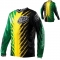 Maillot TROY LEE DESIGNS - GP SHOCKER Green/Yellow 2012