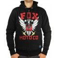 Sweatshirt FOX RACING - Covert OPS Sasquatch Zip Noir 2012