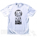 Tee shirt DC Shoes - Peepers Blanc