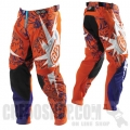 Pantalon TROY LEE DESIGNS - SE PISTON Orange/Purple 2012